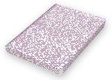 Notitieboek A5 - Megapixel, zacht leer, blauwe en rode print_
