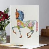 Wenskaart - paard_