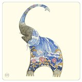 Onderzetter - olifant_