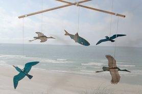 Mobiel - vogels en vis