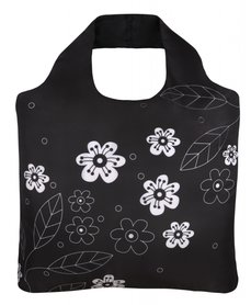 Ecoshopper Black and White 2 Flowers