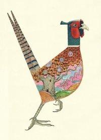 Wenskaart - fazant