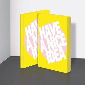 Notitieboek A5 - Have a Nice Idea, zacht leer