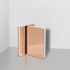 Notitieboek A6 - Shiny Starlet copper