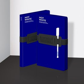 Notitieboek A5 - Not White Blue
