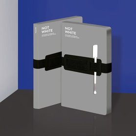 Notitieboek A5 - Not White Grey