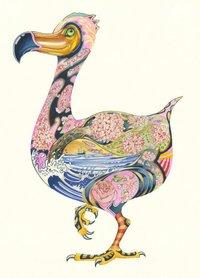 Wenskaart - dodo