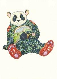 Wenskaart - panda