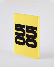Notitieboek A5 - Oui Oui, zacht leer