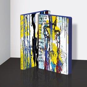Notitieboek A5 - Art is Like... by Marija Mandic, zacht leer