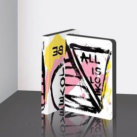Notitieboek A6 - Al is Love by Marija Mandic, zacht leer