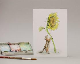 Wenskaart - You Sunny Flower