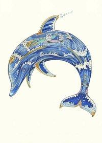 Wenskaart - dolfijn