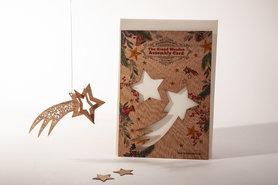 Houten kaart Grand Wooden Assembly - vallende ster