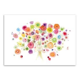 Wenskaart - Burst of Blossoms