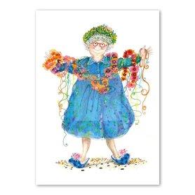 Wenskaart - Granny's dance