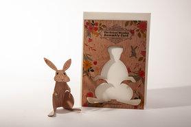 Houten kaart Grand Wooden Assembly - konijn