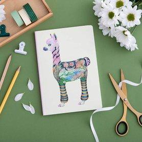 Notitieboek - alpaca