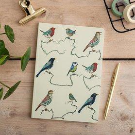 Notitieboek - zangvogels