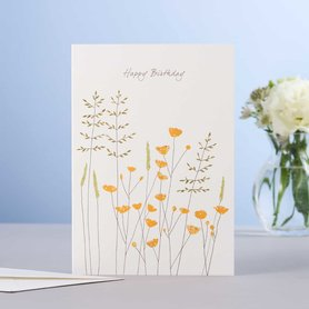 Wenskaart Buttercups Birthday