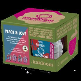 Zaadbommen - Peace & Love