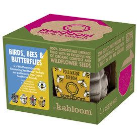 Zaadbommen - Birds, Bees and Butterflies
