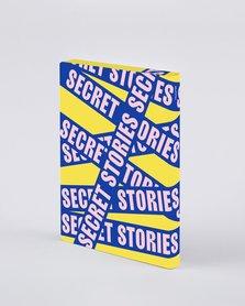 Notitieboek A5 - Secret Stories, zacht leer