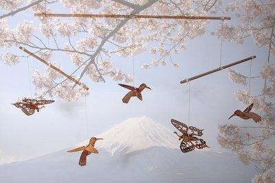 Mobiel - vogels en vlinders