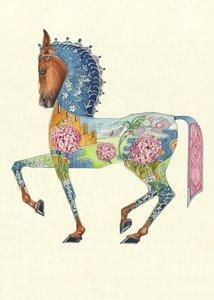 Wenskaart - paard