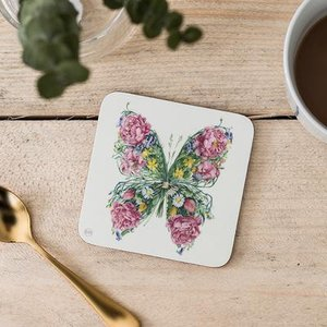 Onderzetter - vlinder