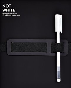 Notitieboek A5 - Not White Black