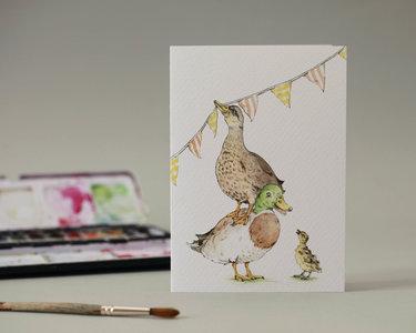 Wenskaart - Little Quack